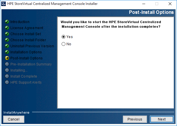 2018-08-21 14_41_52-HPE StoreVirtual Centralized Management Console Installer
